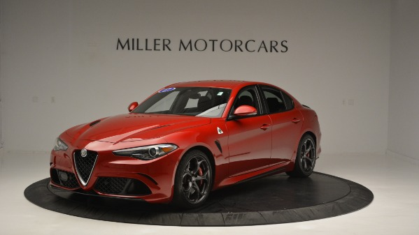 Used 2017 Alfa Romeo Giulia Quadrifoglio for sale Sold at Bugatti of Greenwich in Greenwich CT 06830 2