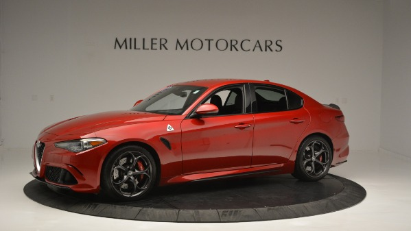 Used 2017 Alfa Romeo Giulia Quadrifoglio for sale Sold at Bugatti of Greenwich in Greenwich CT 06830 3