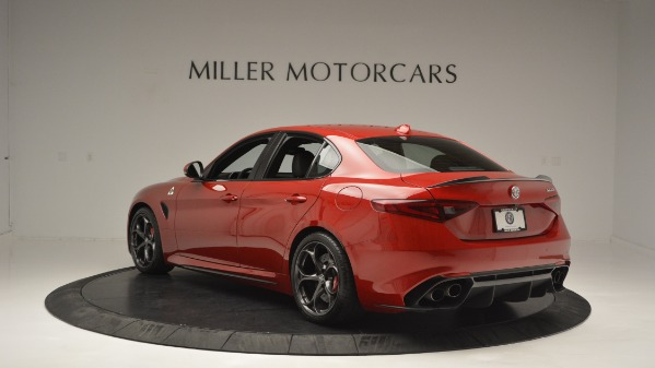 Used 2017 Alfa Romeo Giulia Quadrifoglio for sale Sold at Bugatti of Greenwich in Greenwich CT 06830 5