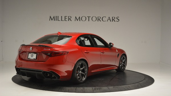 Used 2017 Alfa Romeo Giulia Quadrifoglio for sale Sold at Bugatti of Greenwich in Greenwich CT 06830 7