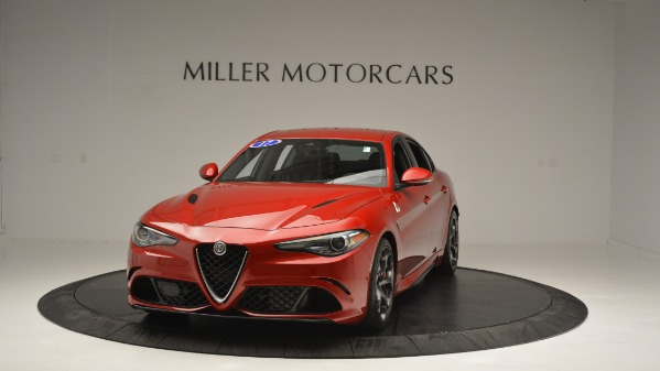 Used 2017 Alfa Romeo Giulia Quadrifoglio for sale Sold at Bugatti of Greenwich in Greenwich CT 06830 1