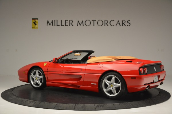 Used 1997 Ferrari 355 Spider 6-Speed Manual for sale Sold at Bugatti of Greenwich in Greenwich CT 06830 4