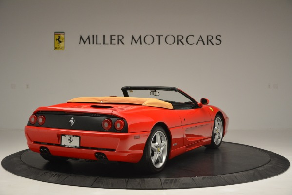 Used 1997 Ferrari 355 Spider 6-Speed Manual for sale Sold at Bugatti of Greenwich in Greenwich CT 06830 7