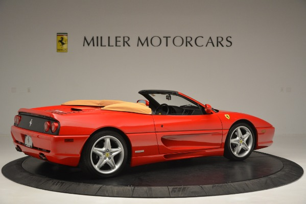 Used 1997 Ferrari 355 Spider 6-Speed Manual for sale Sold at Bugatti of Greenwich in Greenwich CT 06830 8