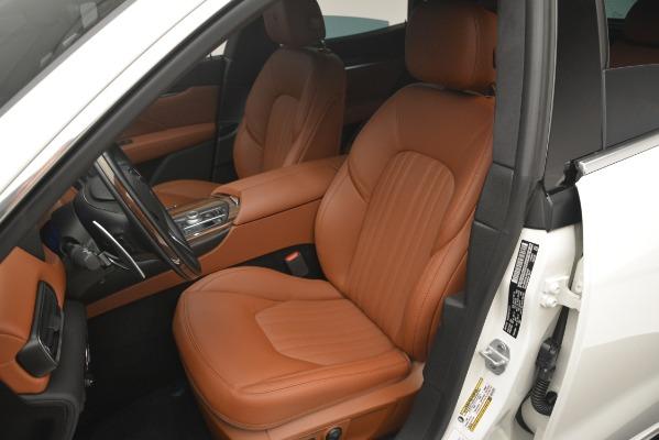 New 2019 Maserati Levante Q4 GranLusso for sale Sold at Bugatti of Greenwich in Greenwich CT 06830 14