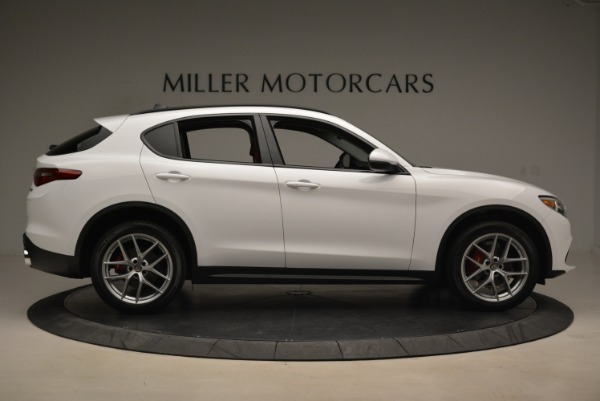 New 2019 Alfa Romeo Stelvio Ti Sport Q4 for sale Sold at Bugatti of Greenwich in Greenwich CT 06830 9