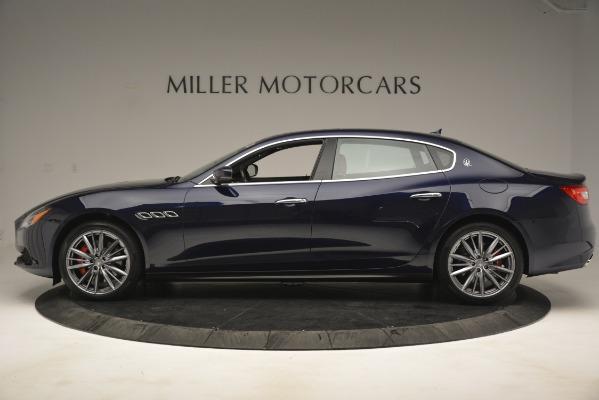 New 2019 Maserati Quattroporte S Q4 for sale Sold at Bugatti of Greenwich in Greenwich CT 06830 3
