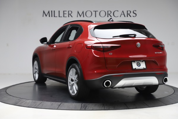 New 2019 Alfa Romeo Stelvio Ti Sport Q4 for sale Sold at Bugatti of Greenwich in Greenwich CT 06830 5