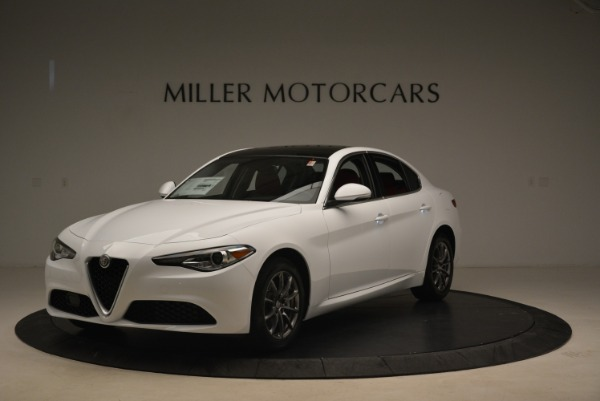 New 2019 Alfa Romeo Giulia Q4 for sale Sold at Bugatti of Greenwich in Greenwich CT 06830 2
