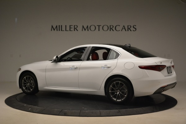 New 2019 Alfa Romeo Giulia Q4 for sale Sold at Bugatti of Greenwich in Greenwich CT 06830 4