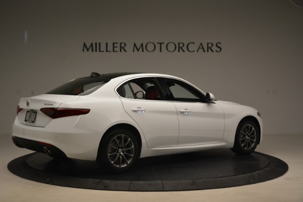 New 2019 Alfa Romeo Giulia Q4 for sale Sold at Bugatti of Greenwich in Greenwich CT 06830 8