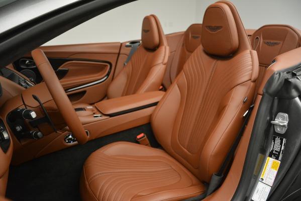 Used 2019 Aston Martin DB11 Volante for sale $214,990 at Bugatti of Greenwich in Greenwich CT 06830 21