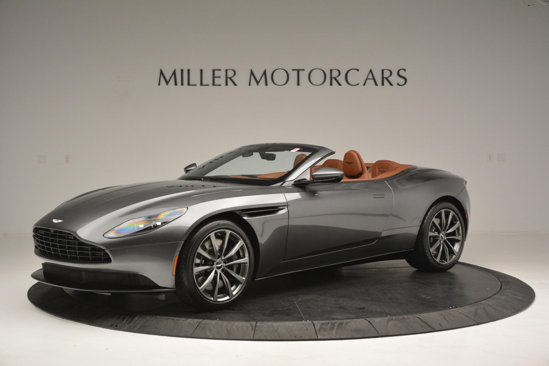 Used 2019 Aston Martin DB11 Volante for sale $214,990 at Bugatti of Greenwich in Greenwich CT 06830 1