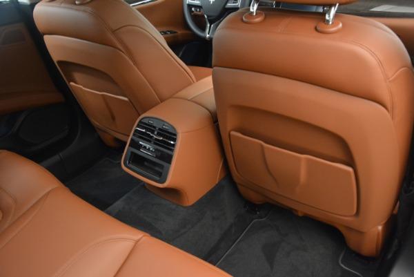 New 2019 Maserati Quattroporte S Q4 GranLusso for sale Sold at Bugatti of Greenwich in Greenwich CT 06830 18