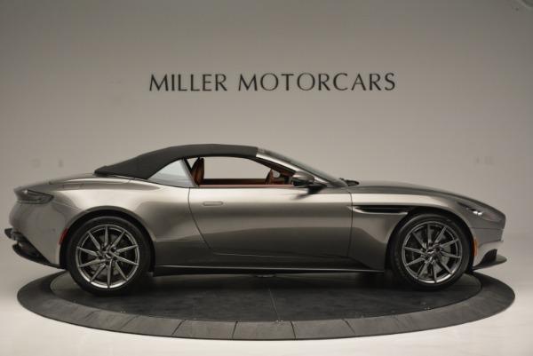 Used 2019 Aston Martin DB11 V8 Convertible for sale Sold at Bugatti of Greenwich in Greenwich CT 06830 16