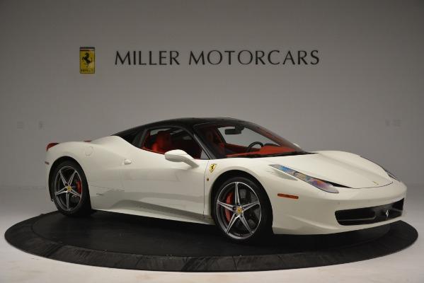 Used 2012 Ferrari 458 Italia for sale Sold at Bugatti of Greenwich in Greenwich CT 06830 10