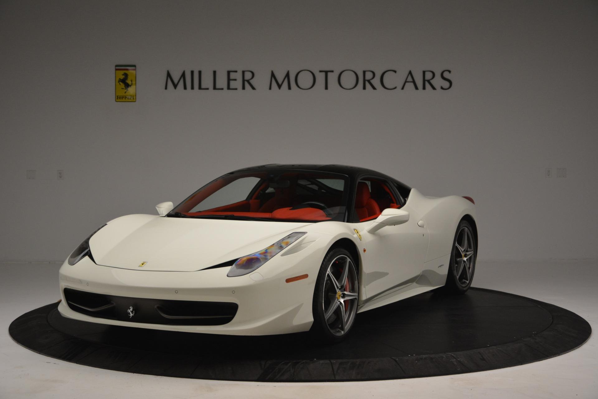 Used 2012 Ferrari 458 Italia for sale Sold at Bugatti of Greenwich in Greenwich CT 06830 1