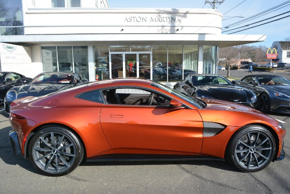 Used 2019 Aston Martin Vantage Coupe for sale Sold at Bugatti of Greenwich in Greenwich CT 06830 22
