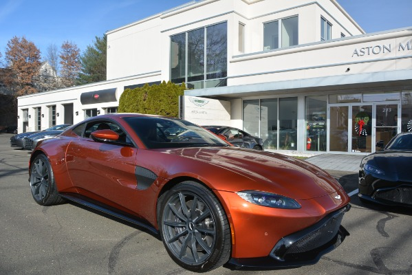 Used 2019 Aston Martin Vantage Coupe for sale Sold at Bugatti of Greenwich in Greenwich CT 06830 23