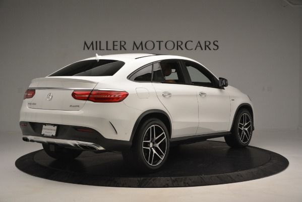 Used 2016 Mercedes-Benz GLE 450 AMG Coupe 4MATIC for sale Sold at Bugatti of Greenwich in Greenwich CT 06830 8