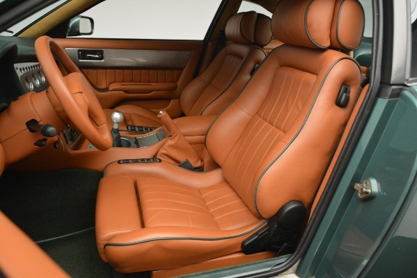 Used 1999 Aston Martin V8 Vantage Le Mans V600 Coupe for sale Call for price at Bugatti of Greenwich in Greenwich CT 06830 18