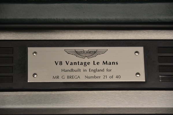Used 1999 Aston Martin V8 Vantage Le Mans V600 Coupe for sale $550,000 at Bugatti of Greenwich in Greenwich CT 06830 19