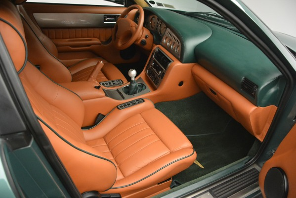 Used 1999 Aston Martin V8 Vantage Le Mans V600 Coupe for sale Call for price at Bugatti of Greenwich in Greenwich CT 06830 25