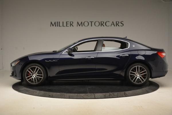 New 2019 Maserati Ghibli S Q4 for sale Sold at Bugatti of Greenwich in Greenwich CT 06830 3