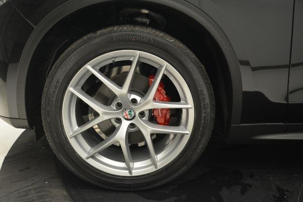 New 2019 Alfa Romeo Stelvio Q4 for sale Sold at Bugatti of Greenwich in Greenwich CT 06830 20