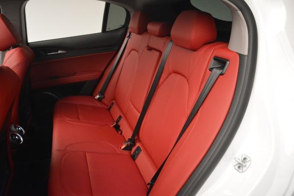 New 2019 Alfa Romeo Stelvio Q4 for sale Sold at Bugatti of Greenwich in Greenwich CT 06830 16
