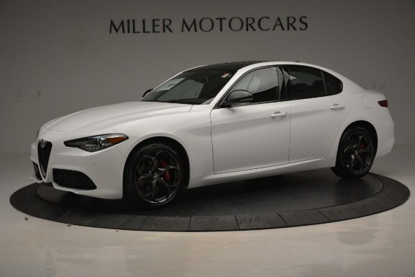 New 2019 Alfa Romeo Giulia Ti Sport Q4 for sale Sold at Bugatti of Greenwich in Greenwich CT 06830 3