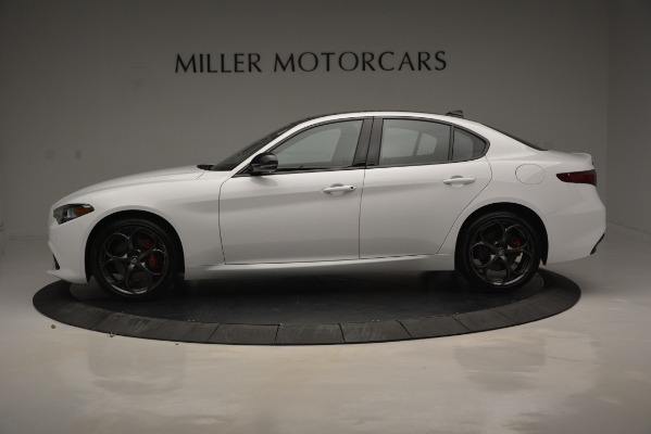 New 2019 Alfa Romeo Giulia Ti Sport Q4 for sale Sold at Bugatti of Greenwich in Greenwich CT 06830 4