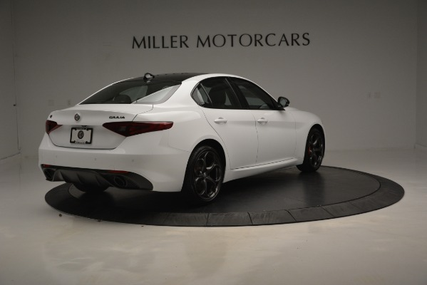 New 2019 Alfa Romeo Giulia Ti Sport Q4 for sale Sold at Bugatti of Greenwich in Greenwich CT 06830 8
