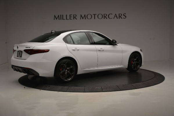 New 2019 Alfa Romeo Giulia Ti Sport Q4 for sale Sold at Bugatti of Greenwich in Greenwich CT 06830 9