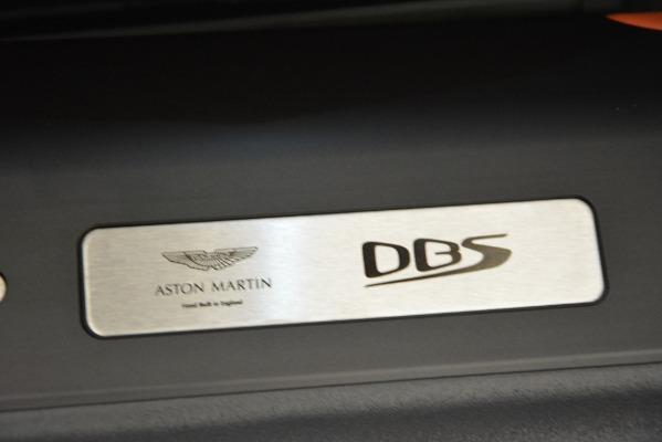 Used 2019 Aston Martin DBS Superleggera Coupe for sale $265,900 at Bugatti of Greenwich in Greenwich CT 06830 27