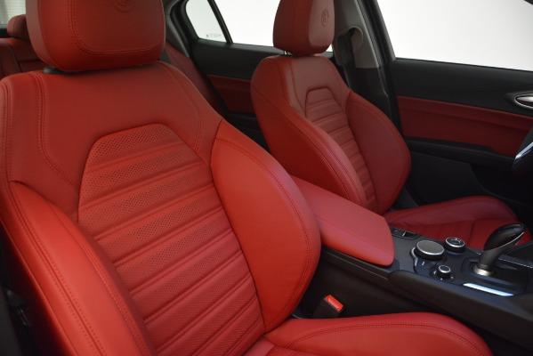 New 2019 Alfa Romeo Giulia Ti Sport Q4 for sale Sold at Bugatti of Greenwich in Greenwich CT 06830 21