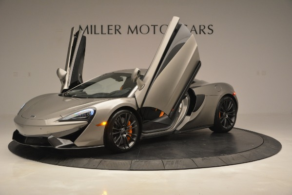 Used 2017 McLaren 570S Coupe for sale Sold at Bugatti of Greenwich in Greenwich CT 06830 14