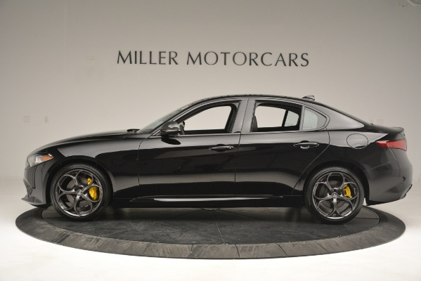 New 2019 Alfa Romeo Giulia Ti Q4 for sale Sold at Bugatti of Greenwich in Greenwich CT 06830 3