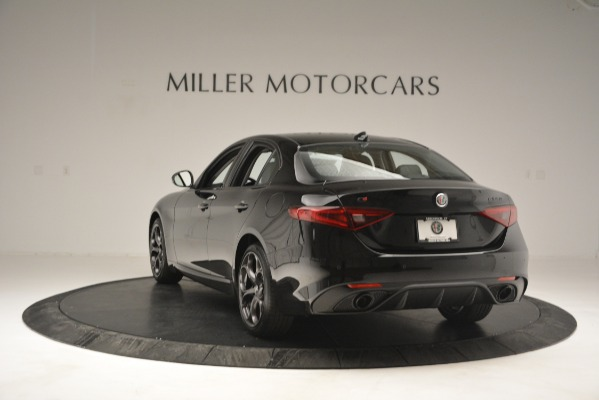 New 2019 Alfa Romeo Giulia Ti Q4 for sale Sold at Bugatti of Greenwich in Greenwich CT 06830 5