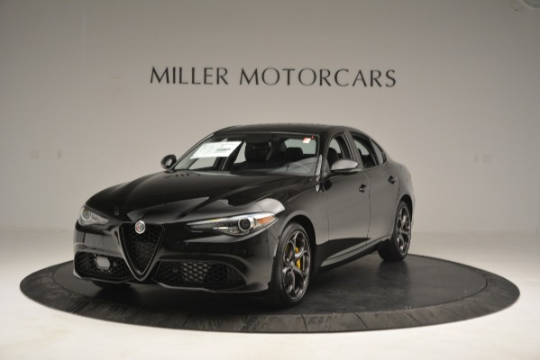 New 2019 Alfa Romeo Giulia Ti Q4 for sale Sold at Bugatti of Greenwich in Greenwich CT 06830 1