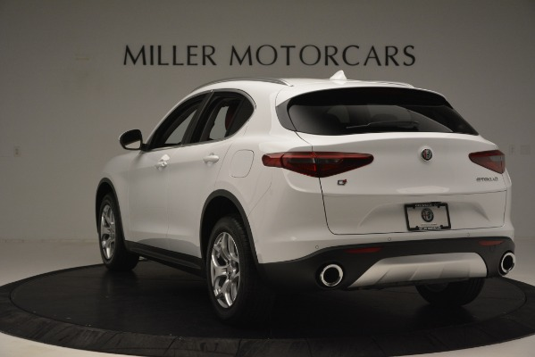 New 2019 Alfa Romeo Stelvio Q4 for sale Sold at Bugatti of Greenwich in Greenwich CT 06830 5