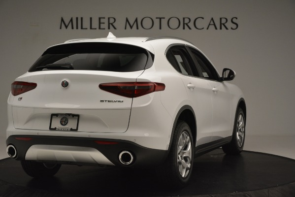 New 2019 Alfa Romeo Stelvio Q4 for sale Sold at Bugatti of Greenwich in Greenwich CT 06830 7