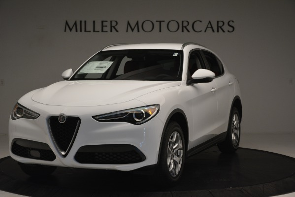 New 2019 Alfa Romeo Stelvio Q4 for sale Sold at Bugatti of Greenwich in Greenwich CT 06830 1