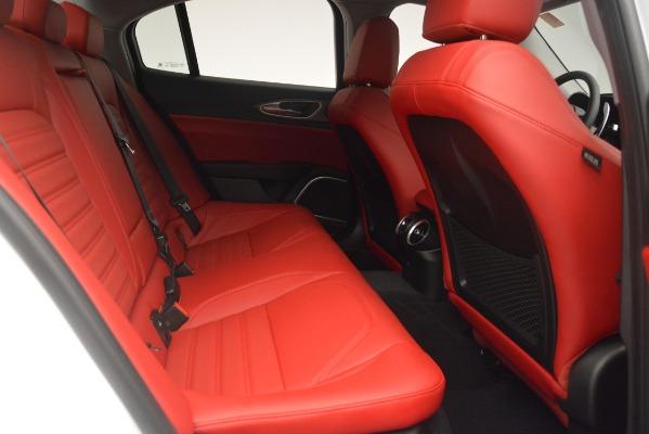New 2019 Alfa Romeo Giulia Ti Sport Q4 for sale Sold at Bugatti of Greenwich in Greenwich CT 06830 27