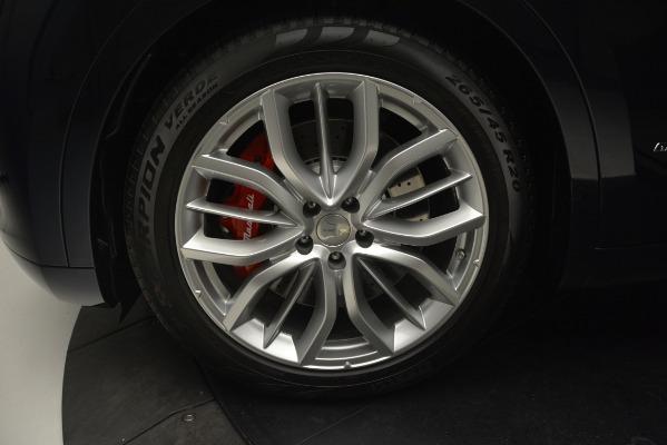New 2019 Maserati Levante S Q4 GranLusso for sale Sold at Bugatti of Greenwich in Greenwich CT 06830 23