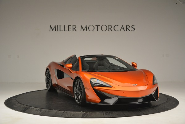New 2019 McLaren 570S Spider Convertible for sale Sold at Bugatti of Greenwich in Greenwich CT 06830 11