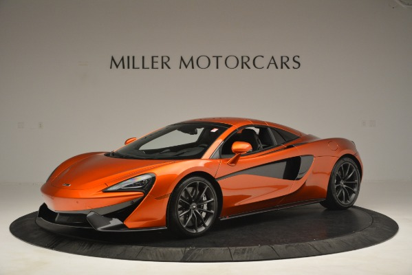 New 2019 McLaren 570S Spider Convertible for sale Sold at Bugatti of Greenwich in Greenwich CT 06830 15