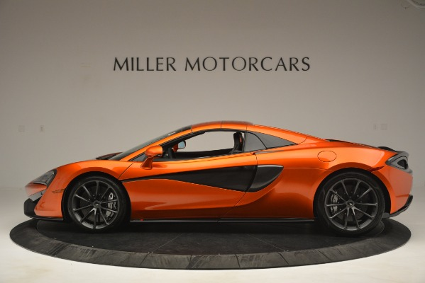 New 2019 McLaren 570S Spider Convertible for sale Sold at Bugatti of Greenwich in Greenwich CT 06830 16