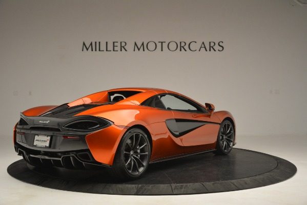 New 2019 McLaren 570S Spider Convertible for sale Sold at Bugatti of Greenwich in Greenwich CT 06830 19