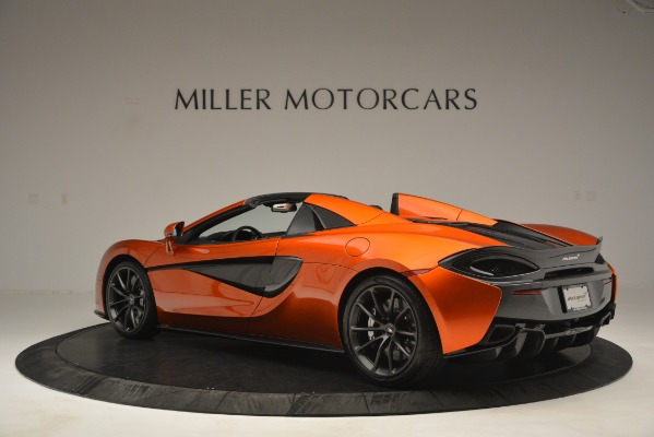 New 2019 McLaren 570S Spider Convertible for sale Sold at Bugatti of Greenwich in Greenwich CT 06830 4
